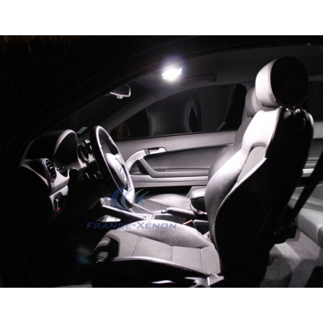 Pack interior LED Lujo - Audi A3 8P ph.2 - BLANCO