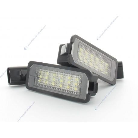 Pack LED plaque arrière GOLF 5 - BLANC 6000K
