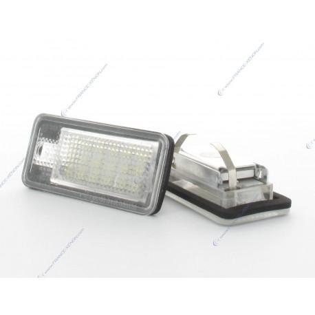 Licence plate LED VAG AUDI A3 8P, A4 B7, A8, Q7, A6 C6 WHITE 6000K