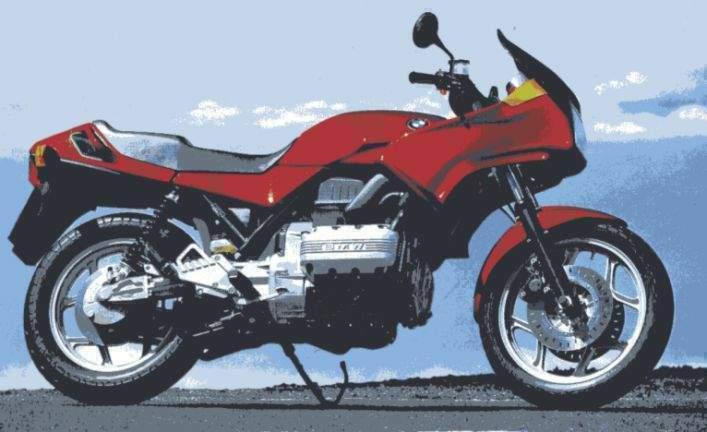 ampoules effet xenon pour moto toute BMW K 75 S  (75)
