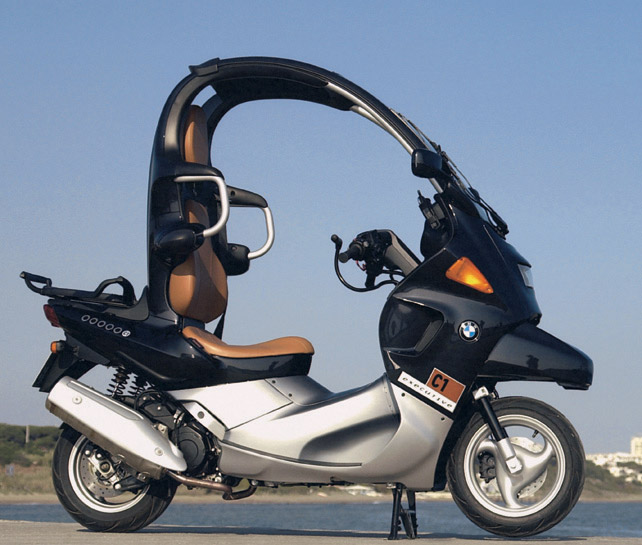 ampoules effet xenon pour moto toute BMW C1 200  (C1)