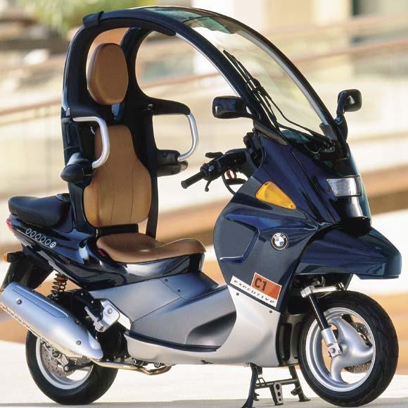 ampoules effet xenon pour moto toute BMW C1 125  (C1)