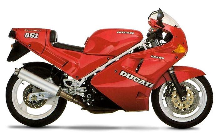 ampoules effet xenon pour moto toute DUCATI 851 SS  (ZDM851S)