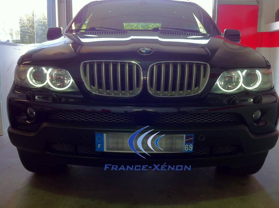 Angel eyes France-Xenon 20W 4 led