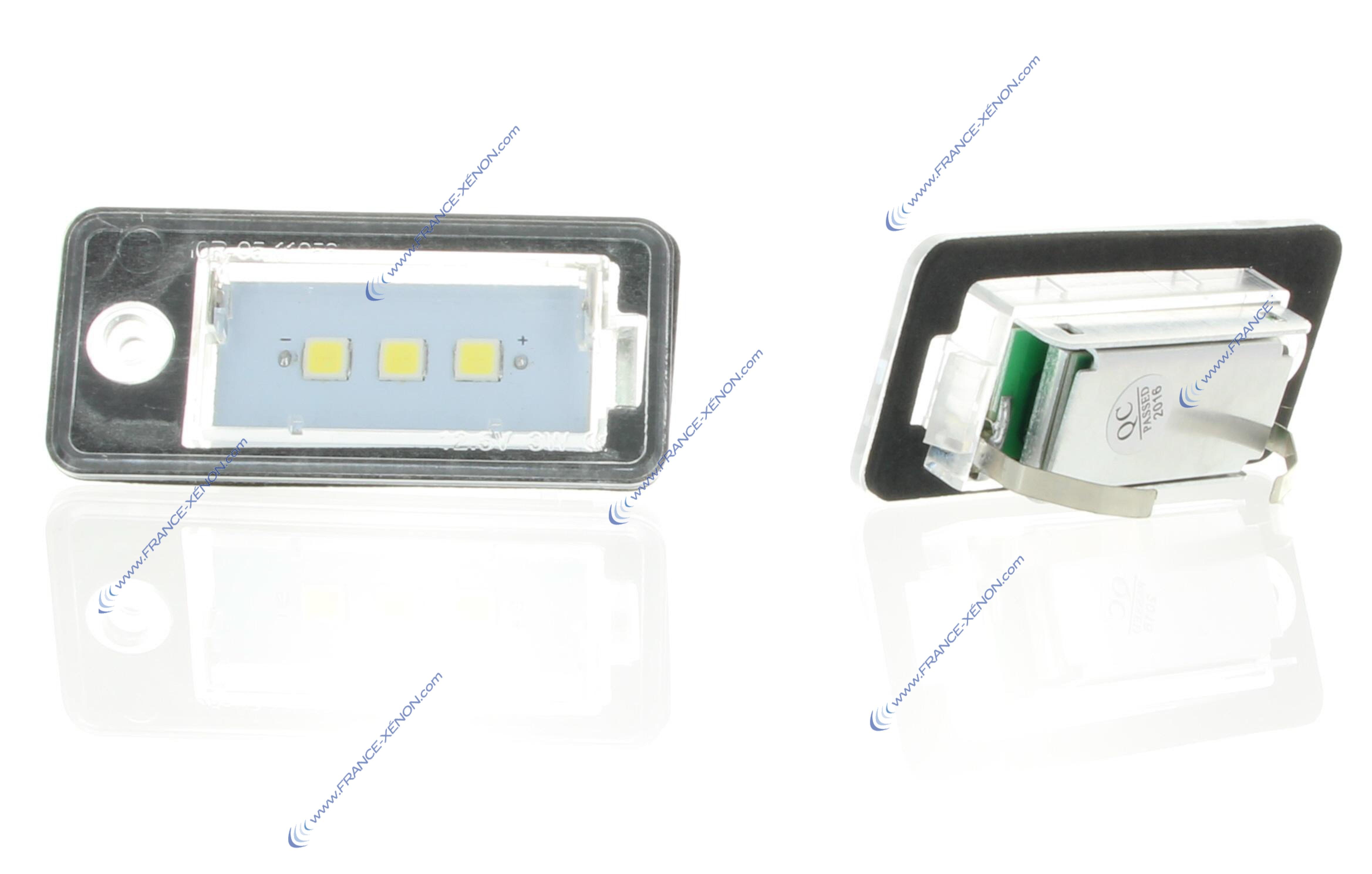 ampoule plaque d'immatriculation LED pour audi A3 Q7