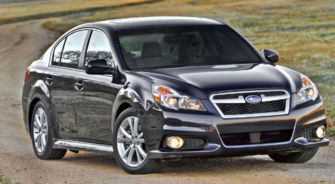 Pack LED subaru Legacy 4