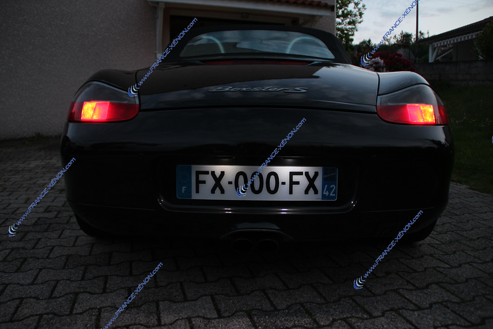 Pack plaque LED porsche boxster 986 & 987