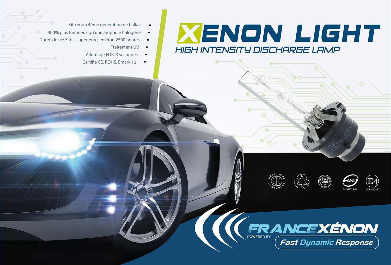 boite kit xénon haut de gamme H7 H1 france xenon