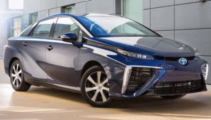 Pack led Toyota mirai intérieur france xenon