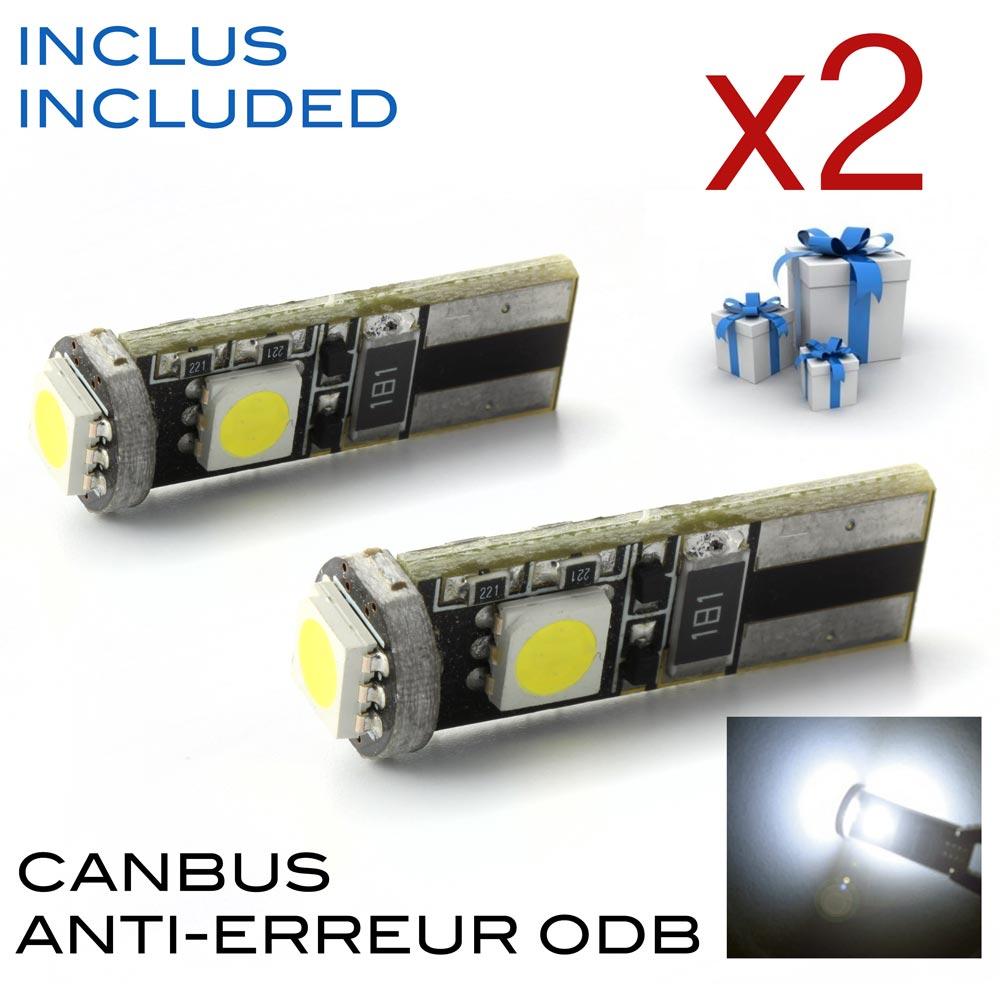 Ampoule led w5W offerte france xenon haut de gamme