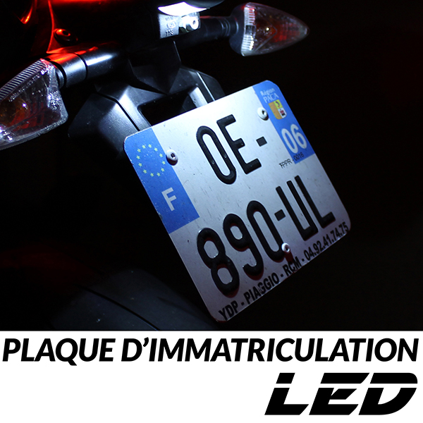 pack led plaque immatriculation yzf r 125 re061 yamaha neuf france. Black Bedroom Furniture Sets. Home Design Ideas