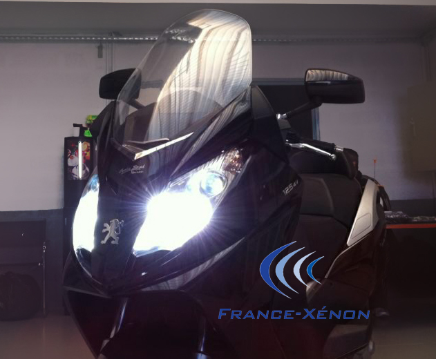 Kit xenon moto france xenon