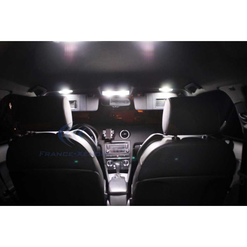pack full led audi a3 8p ph 2 blanc france xenon. Black Bedroom Furniture Sets. Home Design Ideas