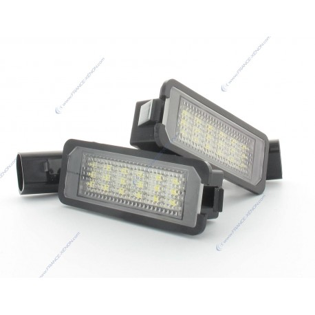 Pack LED Backplate GOLF 5 - weiß 6000 K