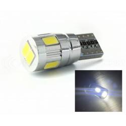 Ampoule 6 LED SG - W5W - Blanc - CANBUS