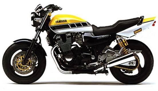 Yamaha xjr 1200 angle valve-kit avant//arrière