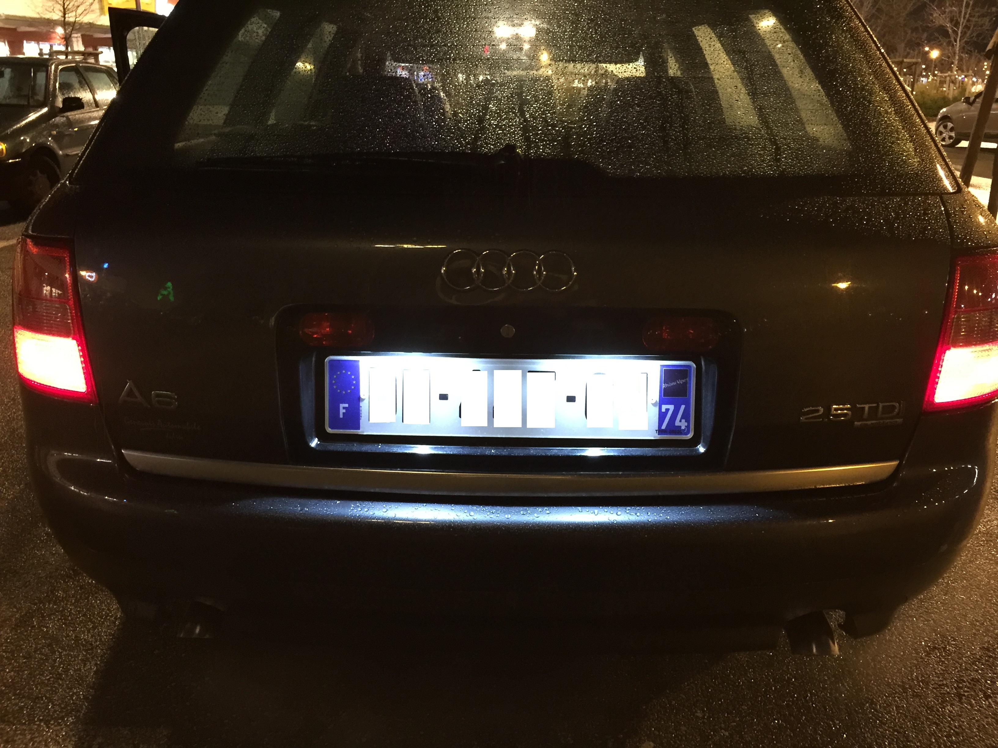 Lampadina Luci Targa : Acquista luce targa auto smd renault megane clio laguna